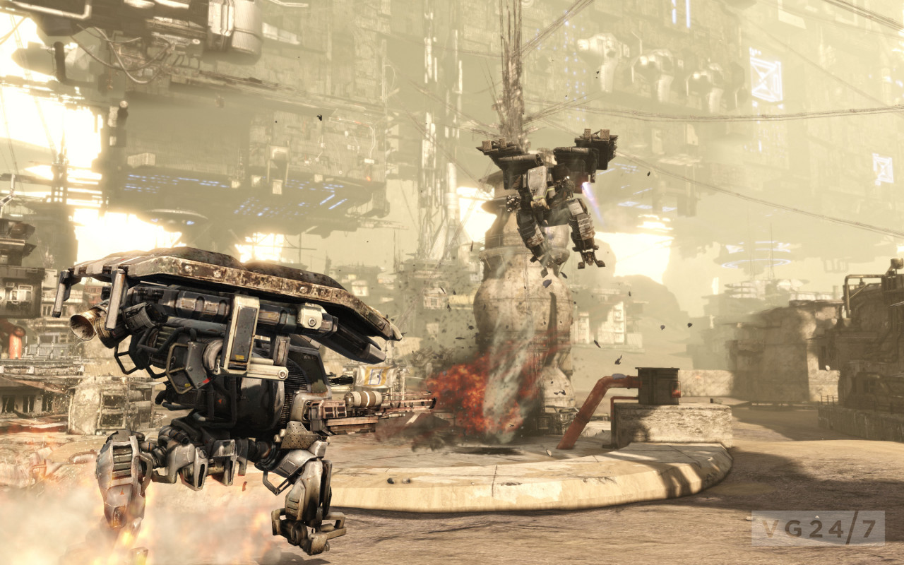 Hawken: detailed new screens show off chunky mech combat - VG247