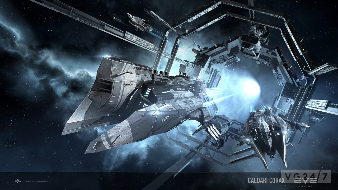 Eve Online retribution ship