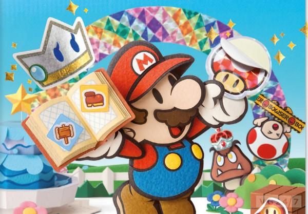 Paper Mario header
