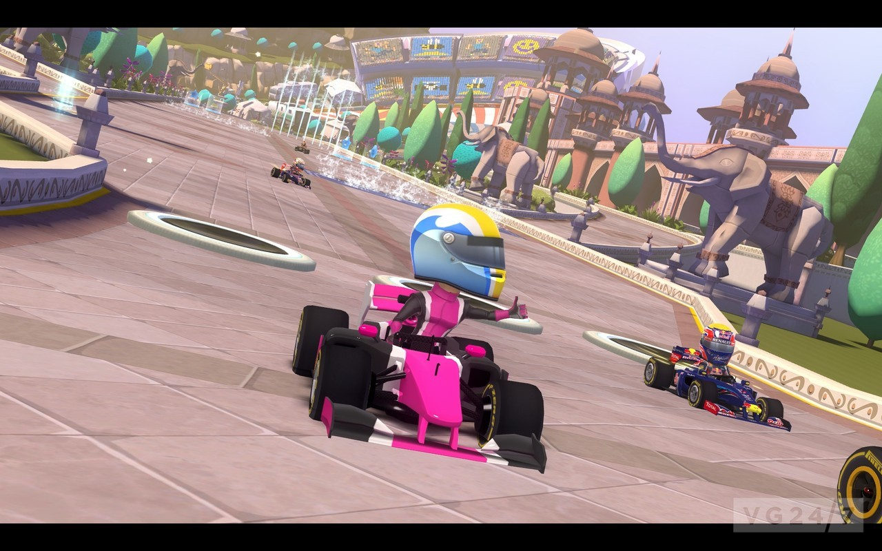 F1 Race Stars DLC adds four new tracks, out today - VG247