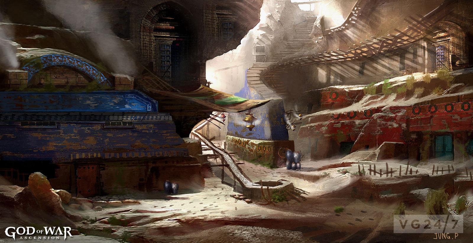 God Of War Ascension Concept Art Escapes Social Tie In Vg247