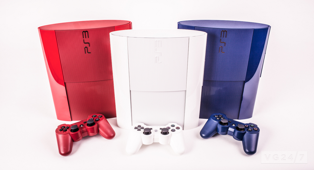 PS3 Super Slim red & blue hit the UK tomorrow - VG247