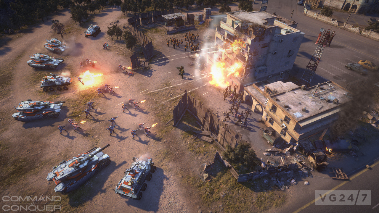 EA looking into Command & Conquer remasters and bringing franchise back to PC
