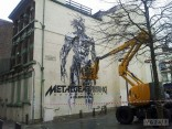 metal gear rising mural 2