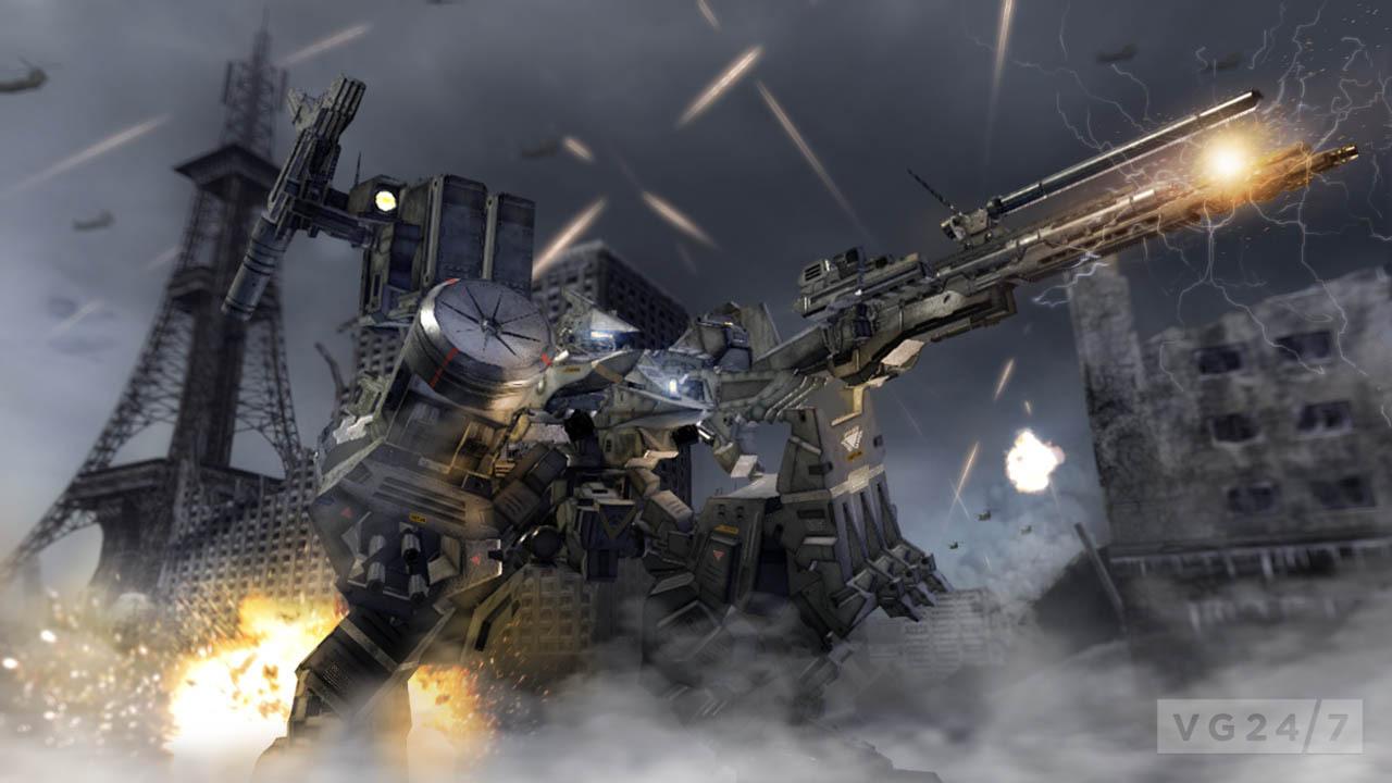 Armored Core Verdict Day Screens Show 20 Mech Battles Vg247