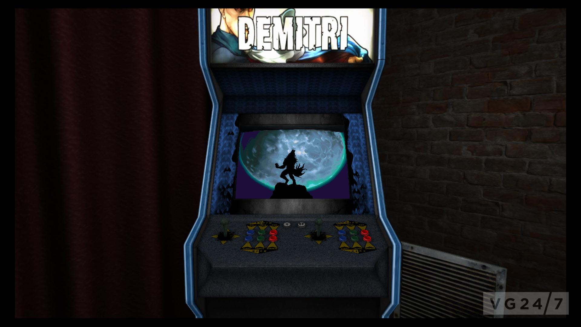Darkstalkers Resurrection DLC offers cabinet, room skins | VG247