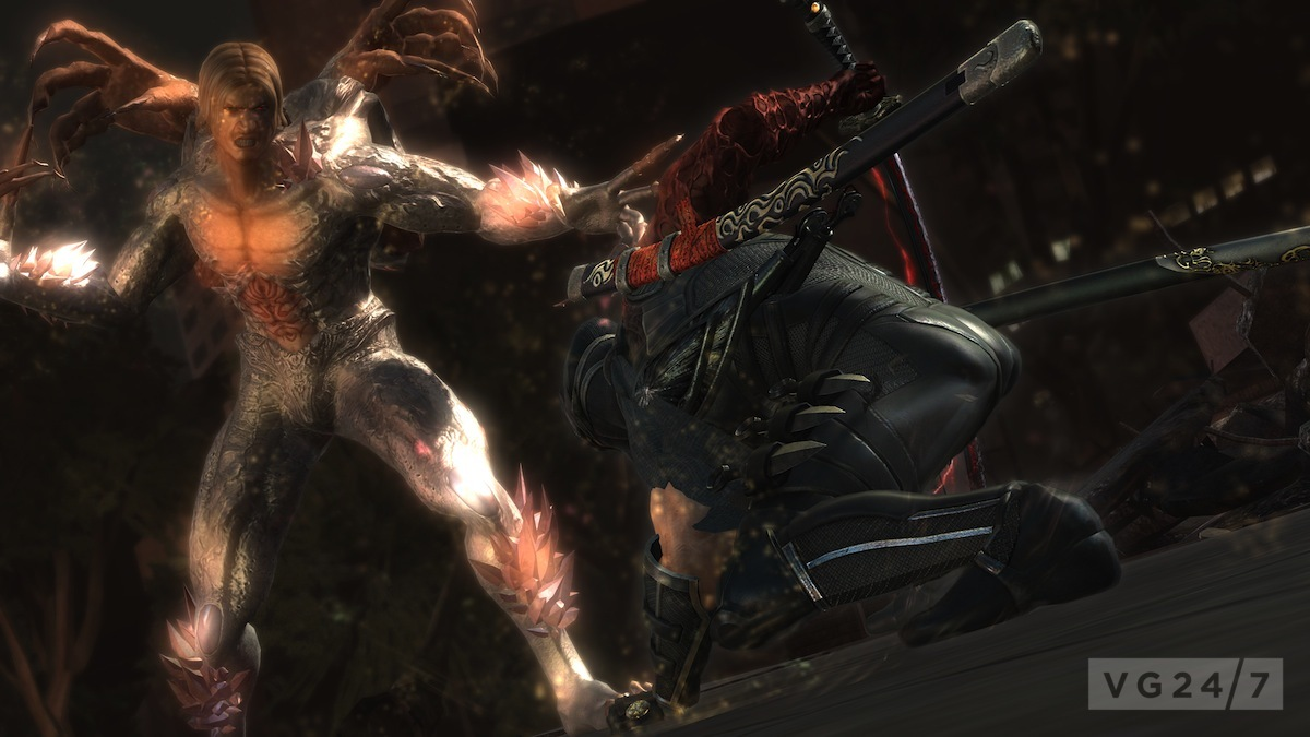 Ninja Gaiden 3 Razor S Edge To Have 100 Ninja Trials New Weapons Skills And More Vg247