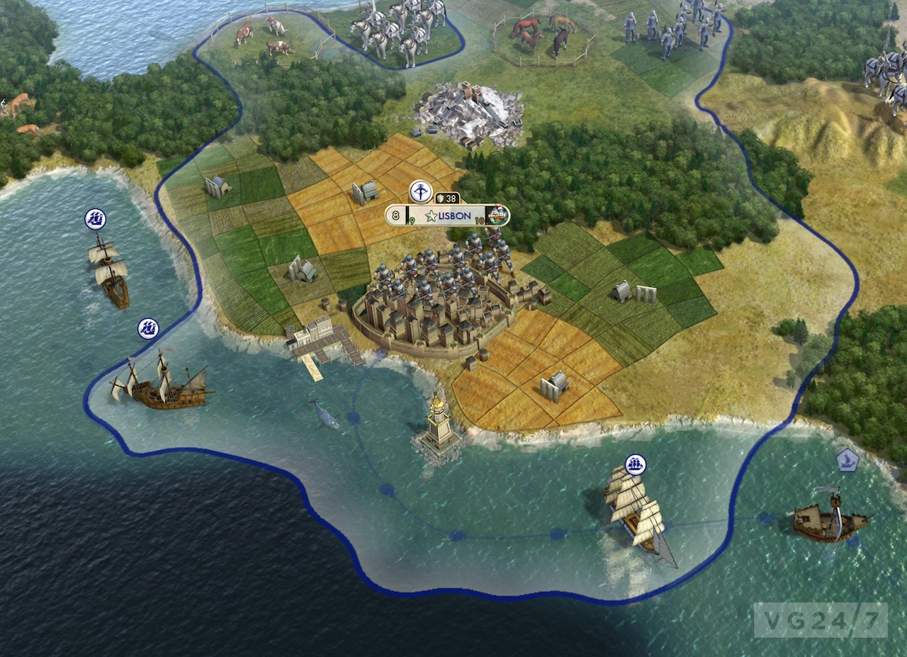 Civilization 5 players are setting up a world war – Civ 5 World Map