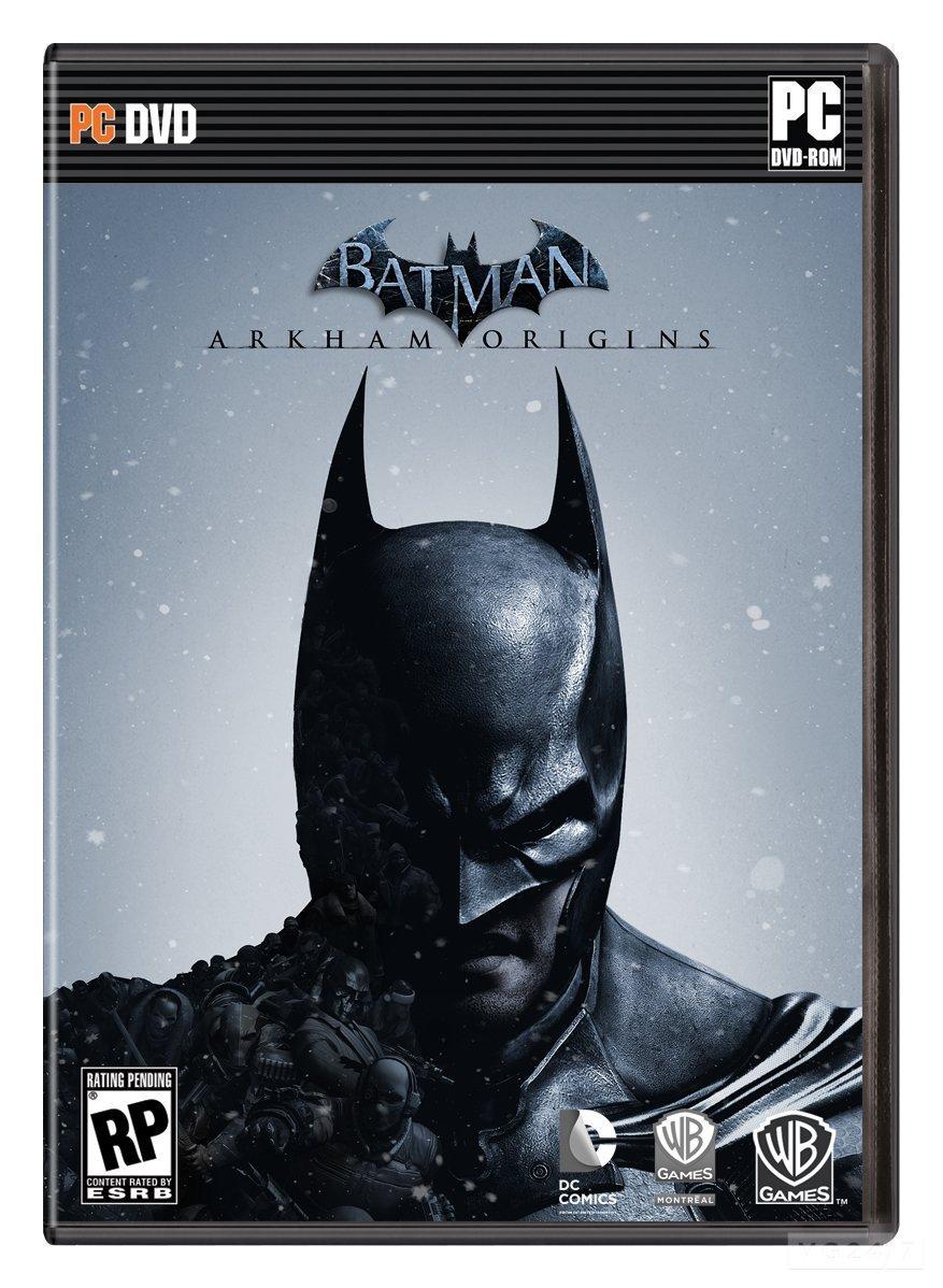 Batman Arkham Origins Cover batman arkham origins box art
