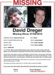 dreger missing persons flier
