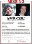 dreger missing persons flier
