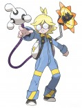 Gym Leader Clemont (EN), Lem (FR) Citro (DE) official art_300dpi