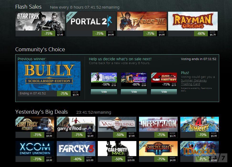 Steam Summer Getaway Sale, Day 9: Metro: Last Light, Skyrim