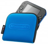 2DS blue case