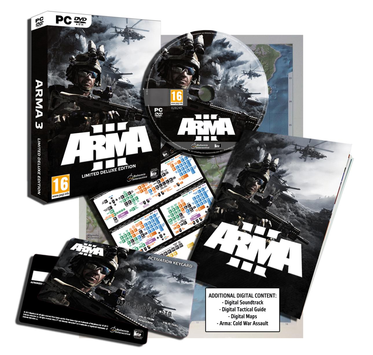 Arma 3 Limited Deluxe Edition