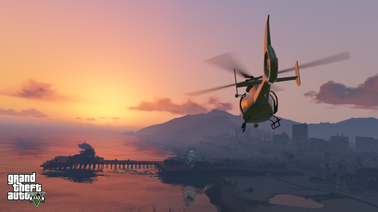 grand theft auto 5 area attractions updated, new screenshots