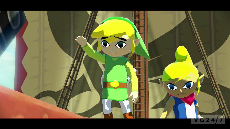 Zelda Wind Waker Hd Screens Show Combat Tingle Miiverse Vg247