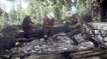 The_Witcher_3_Wild_Hunt_Geralt_fighting_bandits_in_Ard_Skelig