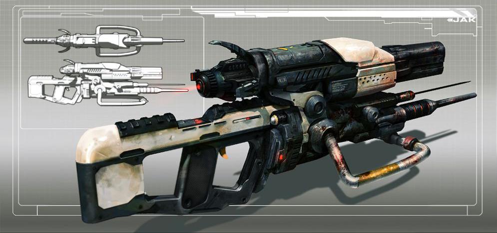 Destiny Weapon Concept Art