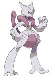 Mega Mewtwo X Official Art_300dpi