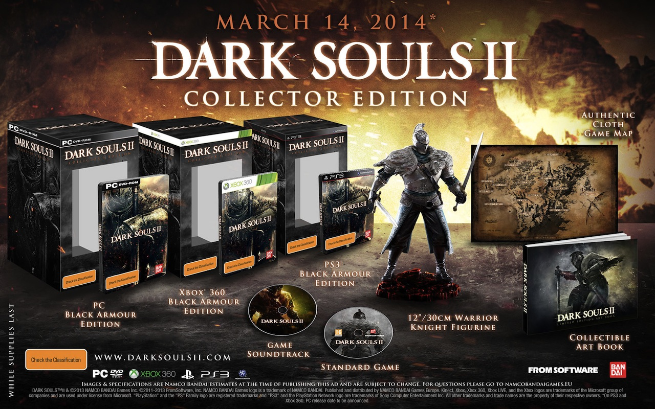 Shadow Dark Souls 2 Dark Souls 2 Collector's