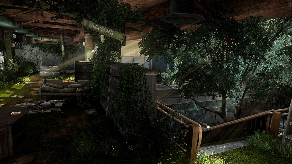 The Last Of Us Abandoned Territories Map Pack And Patch - The last of us multiplayer maps