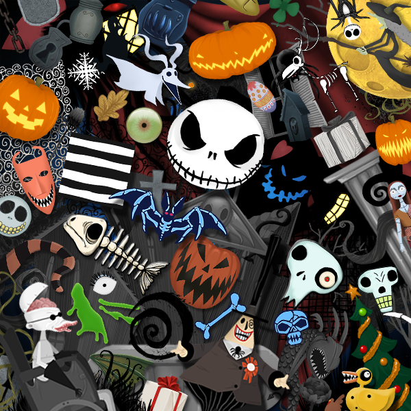 1 sound object 1 background and will run you around the 499 mark come october 23 hit up the links for more information and shots below - Nightmare Before Christmas Backgrounds