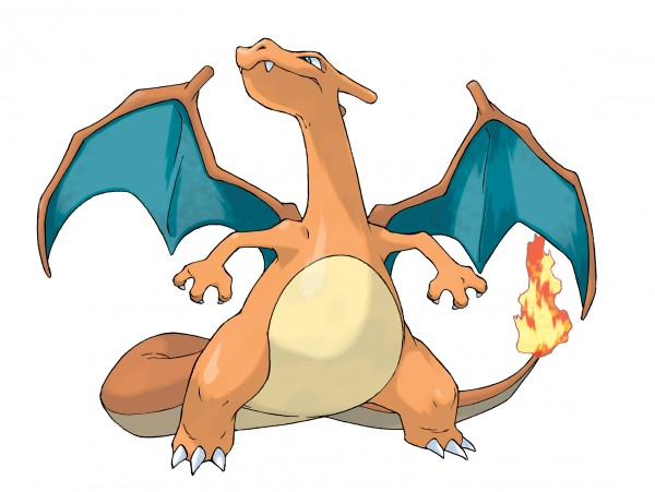 Pokemon Charizard_Official_Art_300dpi