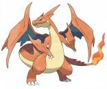 Pokemon  Mega_Charizard_Y_Official_Art_300dpi