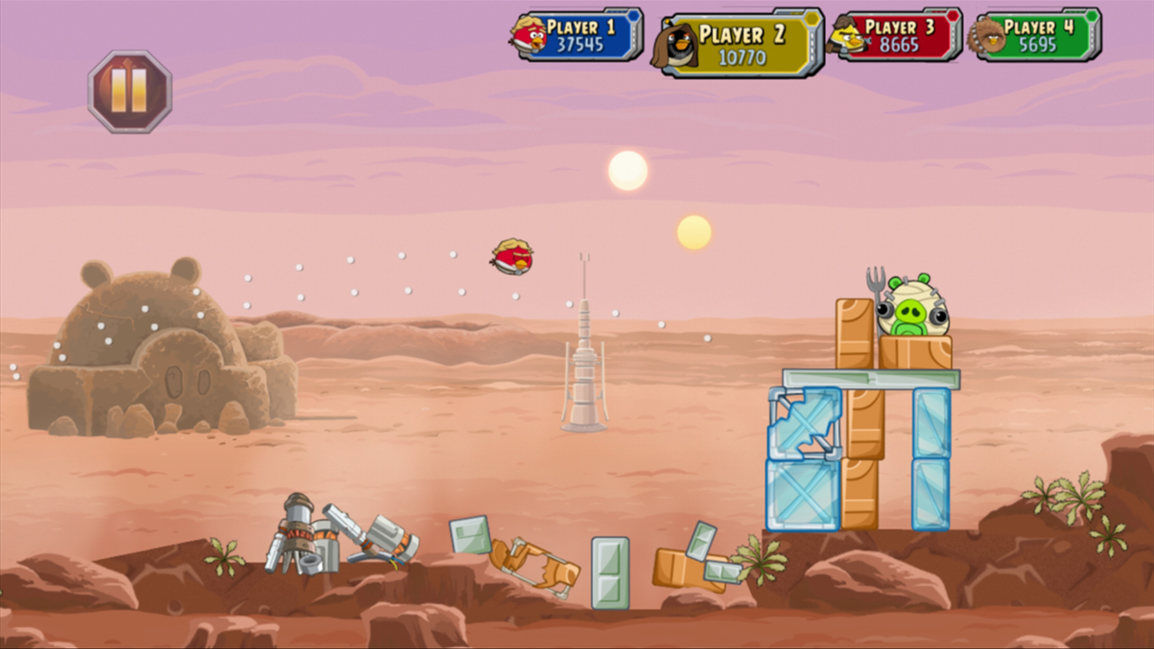 Angry Birds: Star Wars out now on 3DS, PS3 and Xbox 360 - VG247