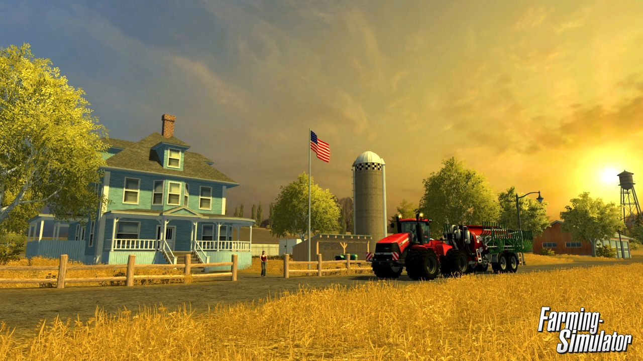 Map Usa Farming Simulator 2013%0A Farming Simulator hits PS  and     in North America digitally and in stores  on November