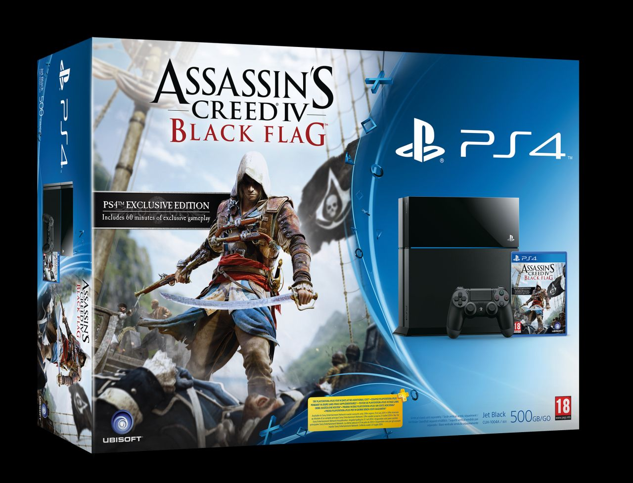 Assassin S Creed 4 Black Flag Ps4 Bundle Confirmed For The Uk Vg247