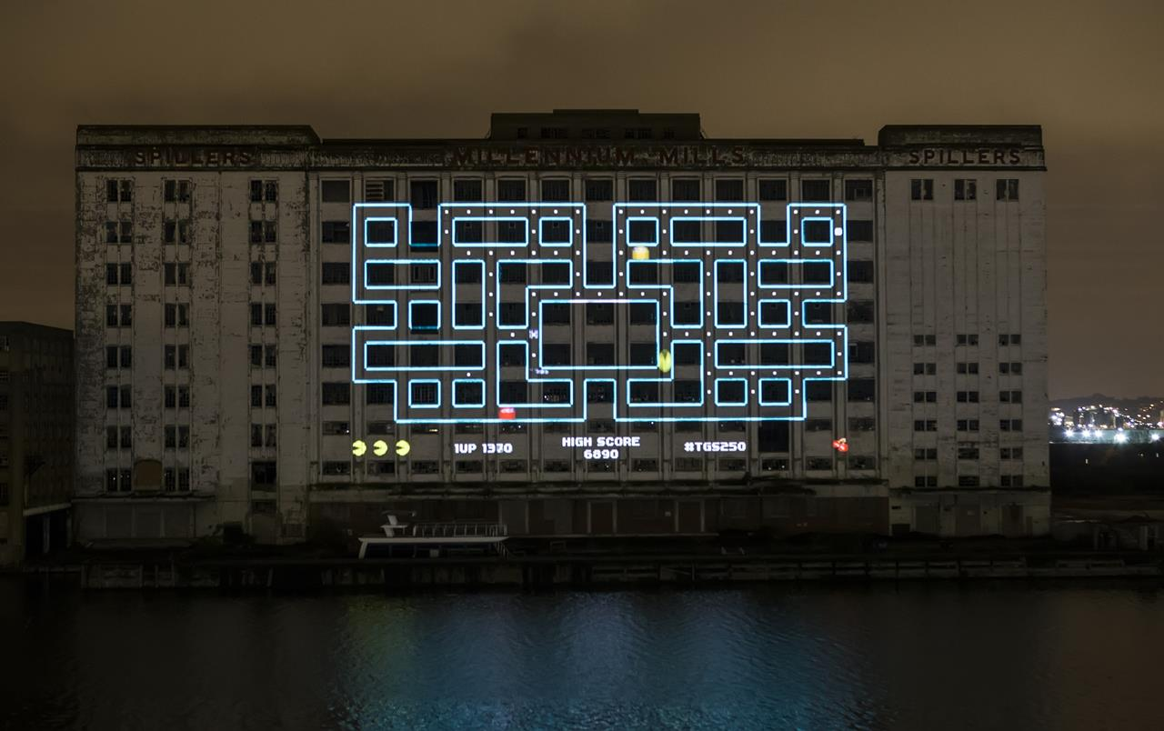 Giant game of Pac-Man sets world record, photos inside - VG247