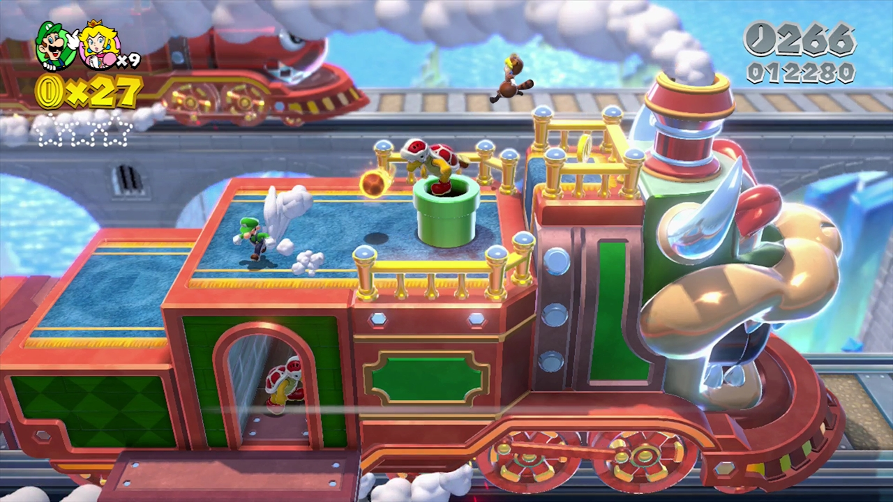 Kleurplaten Super Mario 3d Land.Super Mario 3d World Screens Show Colorful Environments Vg247