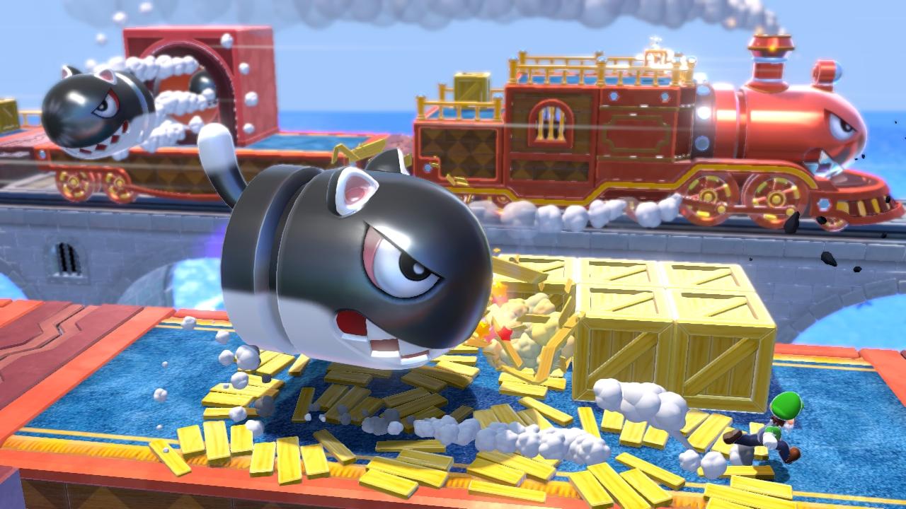 Super Mario 3d World Screens Show Colorful Environments Vg247