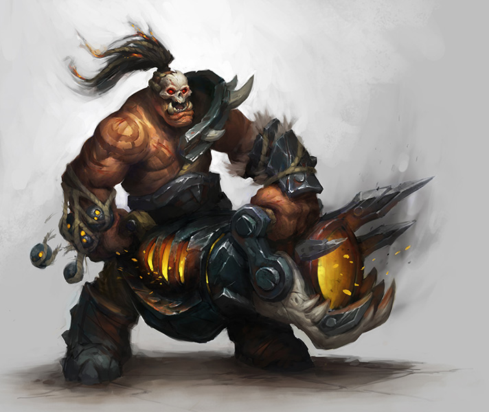 Wow Warlords Of Draenor Faq Videos Screens And Art Show Faction