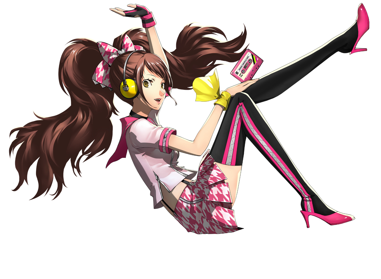 Persona 4 Characters Persona 4 Dancing All