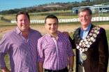 Shane Jacobson_Patrick Lagana SCE Aust_Cllr Gary Rush_Gran Turismo Dr