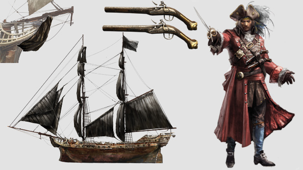 Assassin S Creed 4 Illustrious Pirates Dlc Out Now Adds New