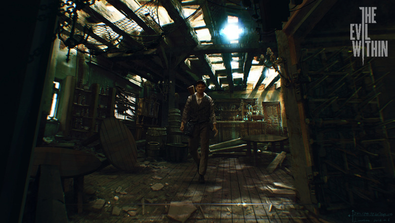 Evil Within Concept Art