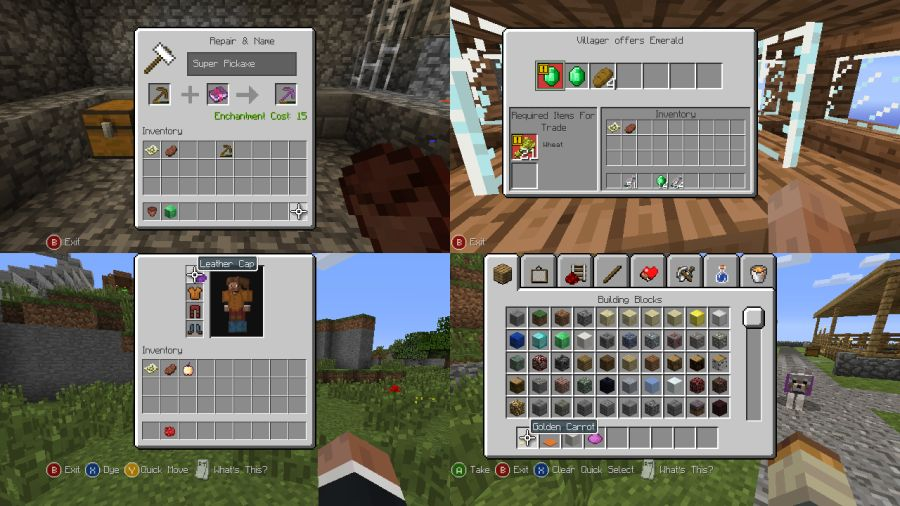Minecraft: Xbox 360 Edition update 14 shots show City Texture Pack