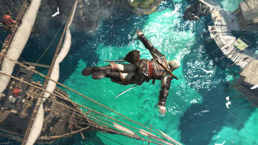 Assassin's Creed 4: Black Flag is free on Uplay from now until