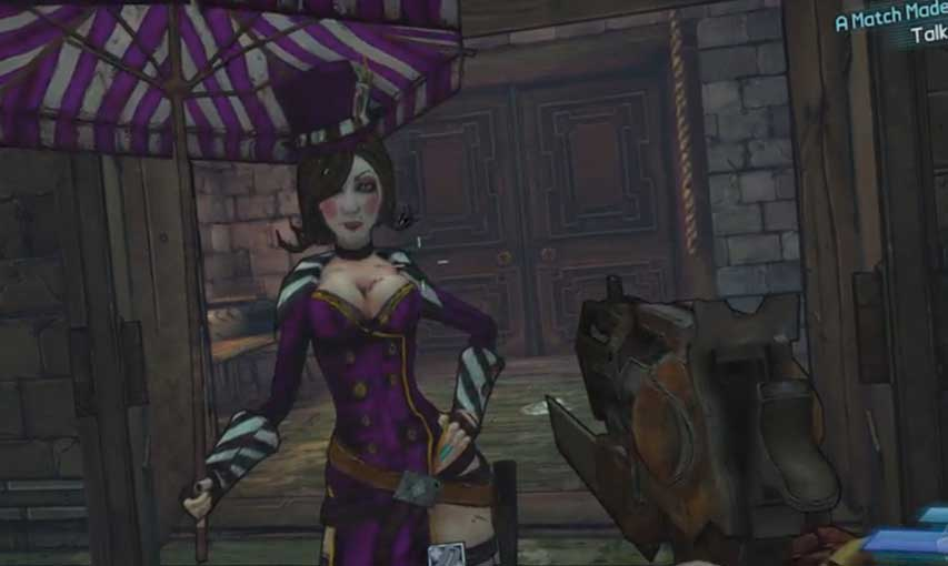Borderlands 2 Mad Moi And The Wedding Day Macre