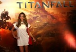 Ferne McCann at Titanfall launch party 1