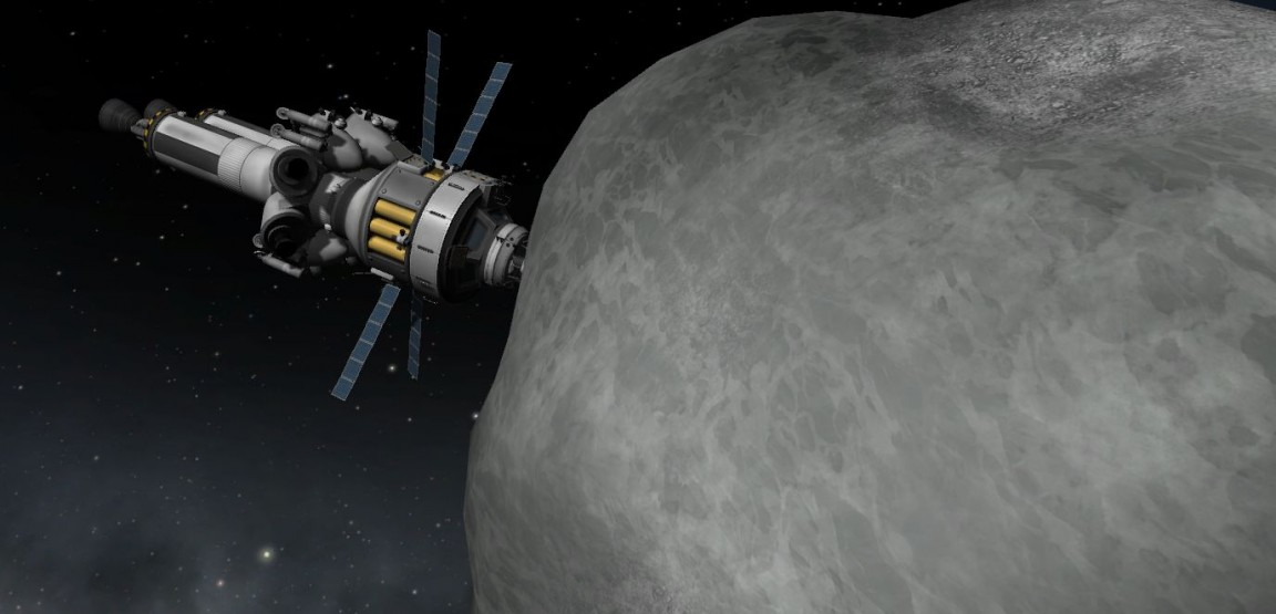 Kerbal Space Program Asteroid Redirect Mission