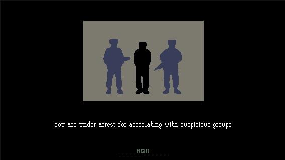 Papers arrest