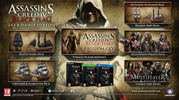 Ubisoft Announces Assassin S Creed 4 Black Flag Jackdaw Edition
