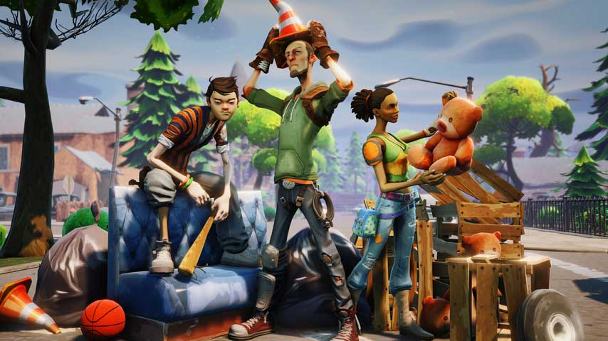 fortnite 2 - Fortnite sells over 500k copies in its first day in early access