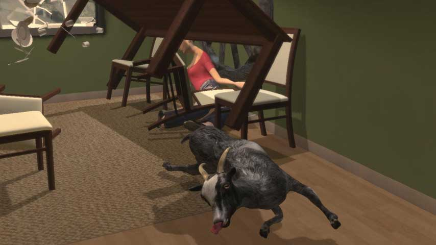Goat Simulator was \
