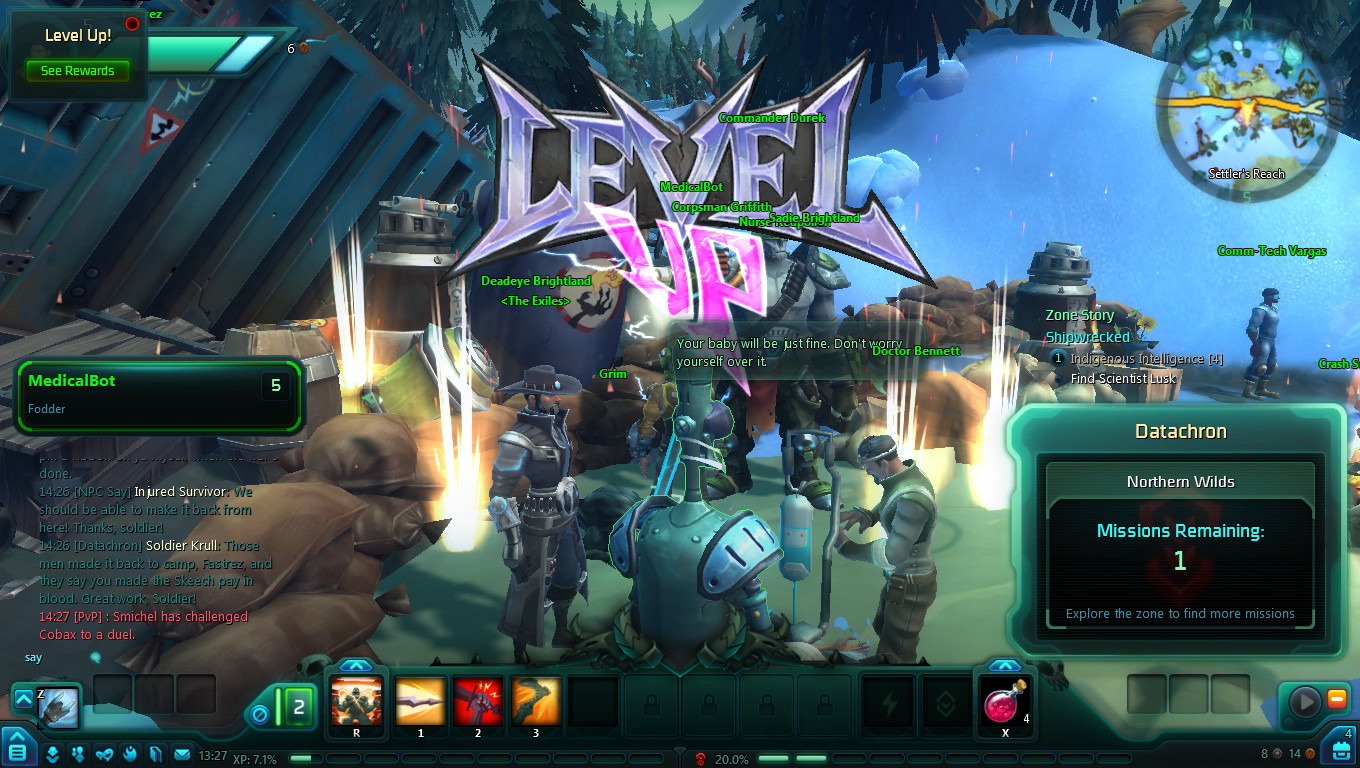 Wildstar_level_up